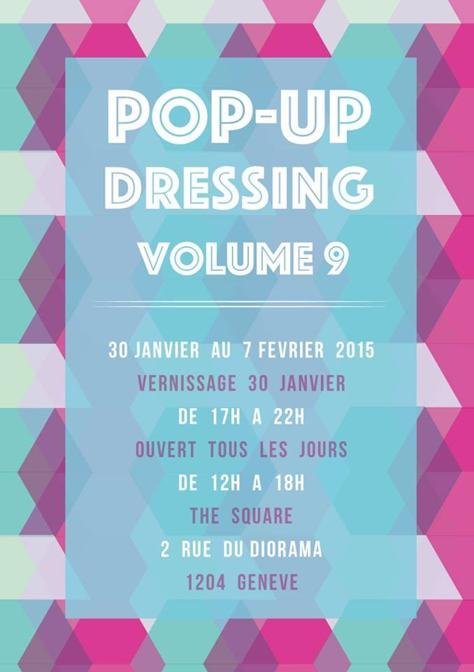 POP-UP DRESSING à Genève