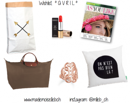 Wishlist AVRIL