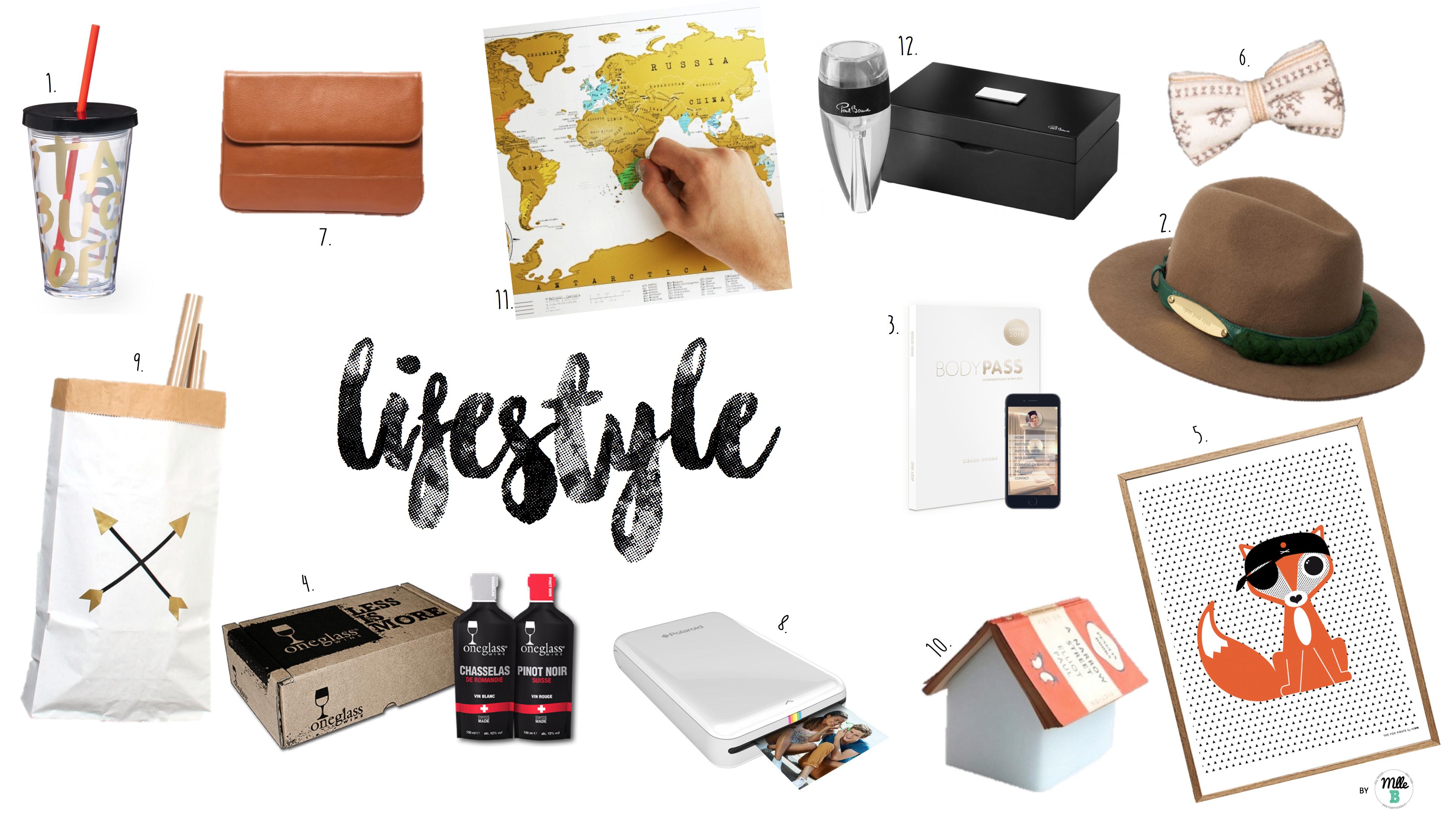 Idées cadeaux Lifestyle