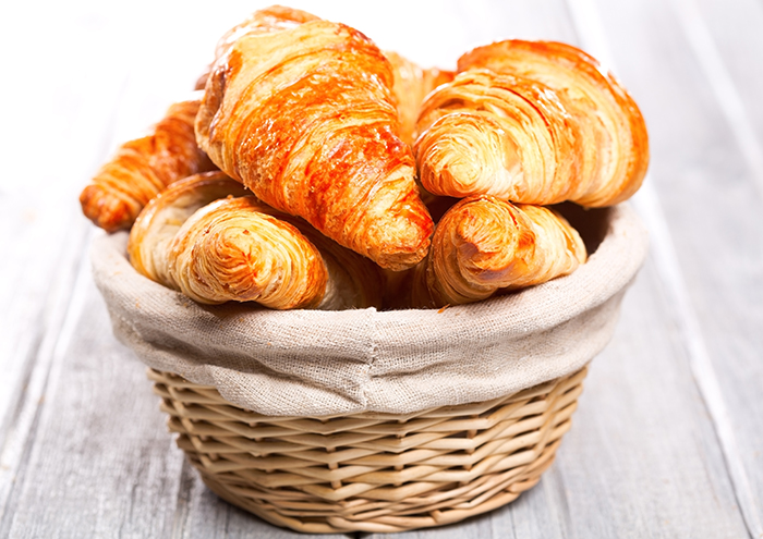 panier croissants
