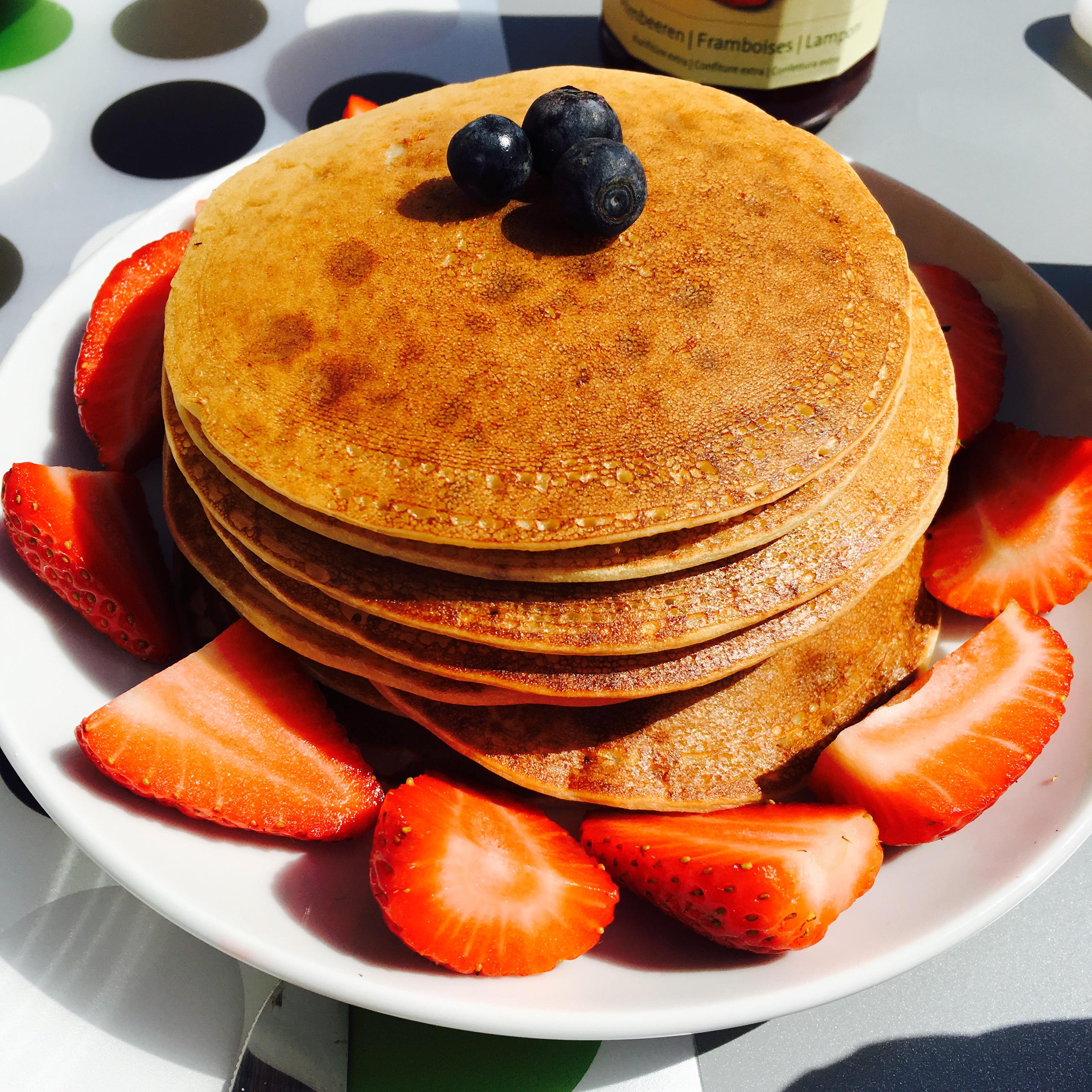 Pancakes ultra digestes