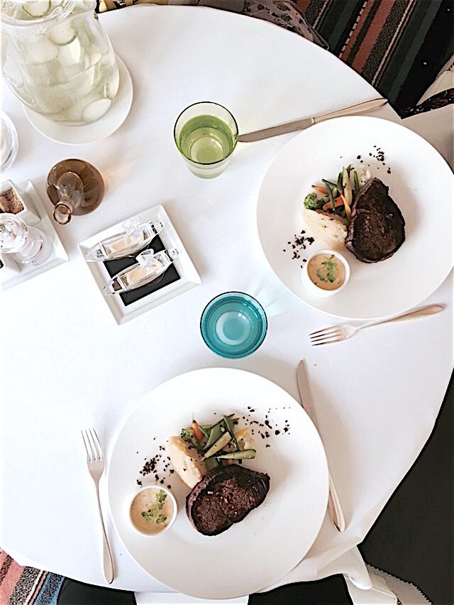 Lunch au Café Lauren
