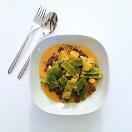 Baby Quinoa au tofu-curry