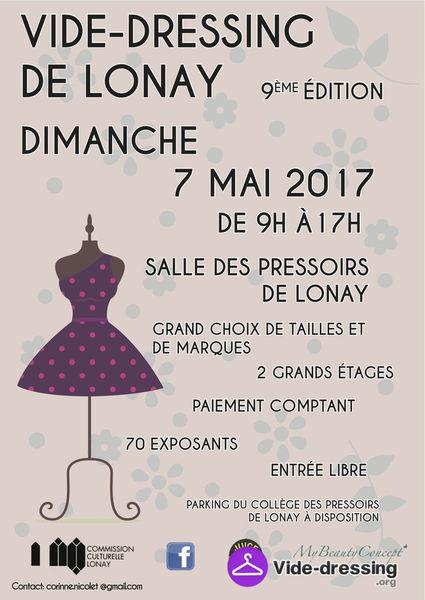 Vide dressing – 7 mai 2017