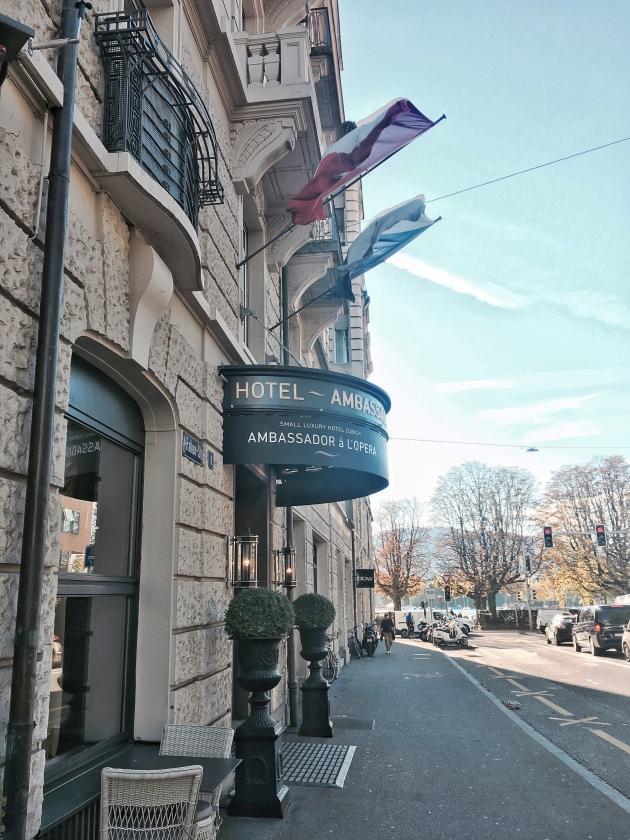 Hotel Ambassador à l'Opéra – Zürich