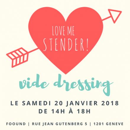 Vide Dressing – 20.01.2018 – Genève