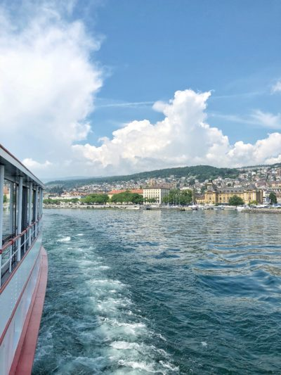 "A bord du ""Neuchâtel"""