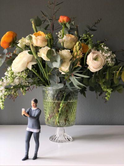 Bouquet printanier – Atelier Rose Jasmin