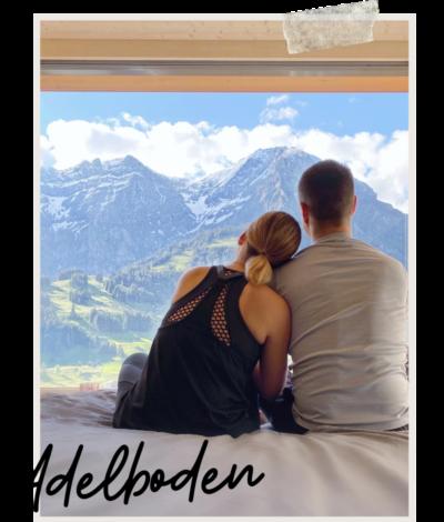 Plein la vue à Adelboden